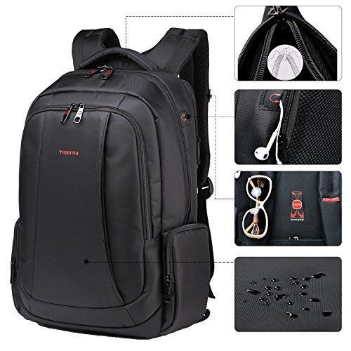 Business Backpack Anti Theft Travel Bag Laptop Up To 15 Black Travel Daily NEW #BusinessBackpackAntiTheft #TravelBag