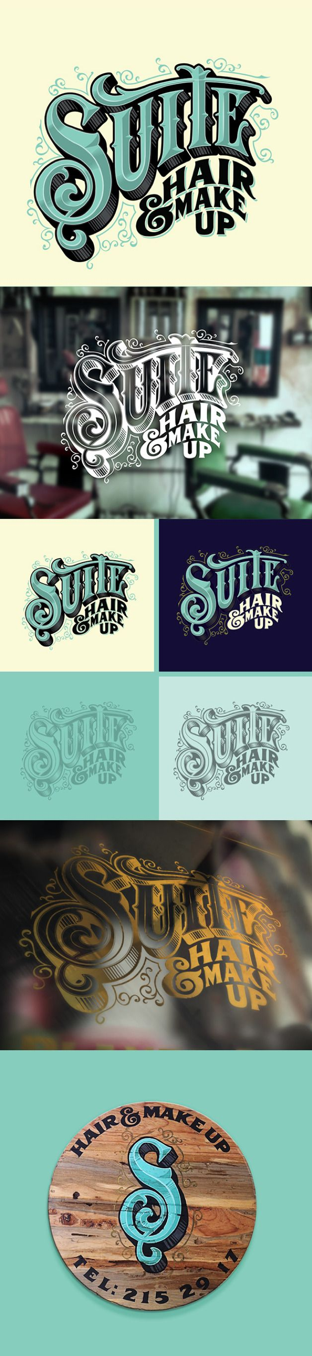 This typography is made to look really old school because of the block shape of…