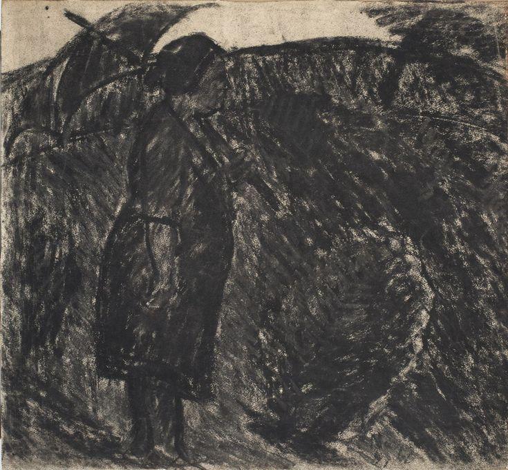 Nagy István: Feleségem ernyővel, 1928