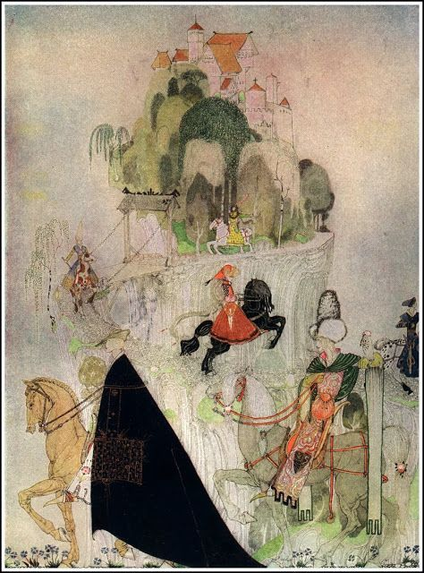 Kay Nielsen - East of the sun, west of the moon ♥
