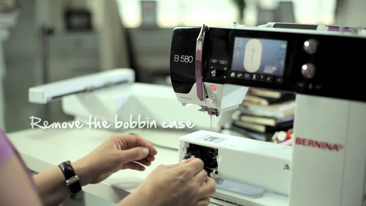 8/10 BERNINA 580: embroidery first steps