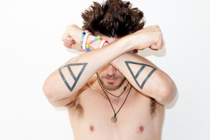Jared and his triad tattoos #reference