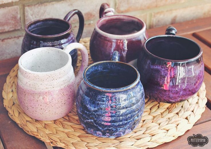1000 Images About Pottery Mugs Cups Tumblers Shot