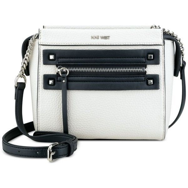 Nine West Get Poppin Crossbody ($36) ❤ liked on Polyvore featuring bags, handbags, shoulder bags, nine west, crossbody handbag, nine west purses, cross body and nine west crossbody