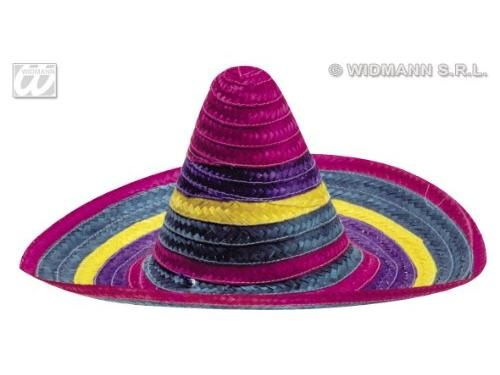 Színes sombrero kalap, 2 féle