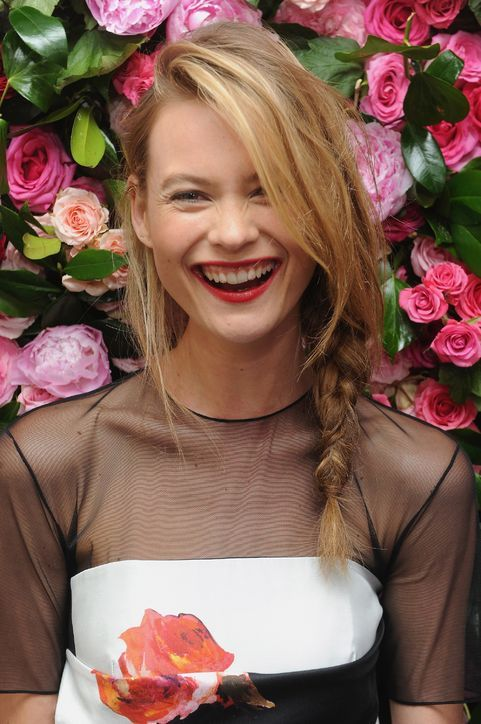 Behati Prinsloo (AKA Adam Levine's New Fiancee) Models 3 Cute Hairstyle Ideas You Could Try This Weekend