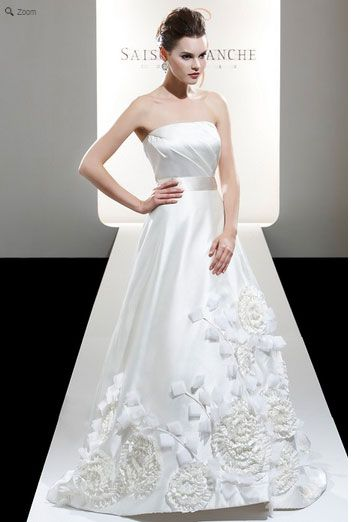 Saison Blanche Wedding Gown - Boutique Collection - Style #B3126