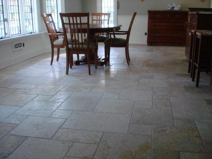 kitchen floor tile layout