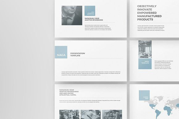 Naga - PowerPoint Template by Tugcu Design Co. on @creativemarket