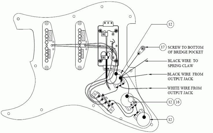 fender strat wiring guide