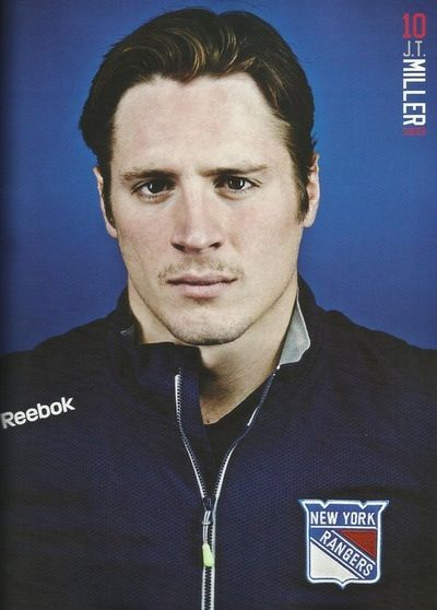 JT Miller - 2013-2014 NY Rangers Yearbook