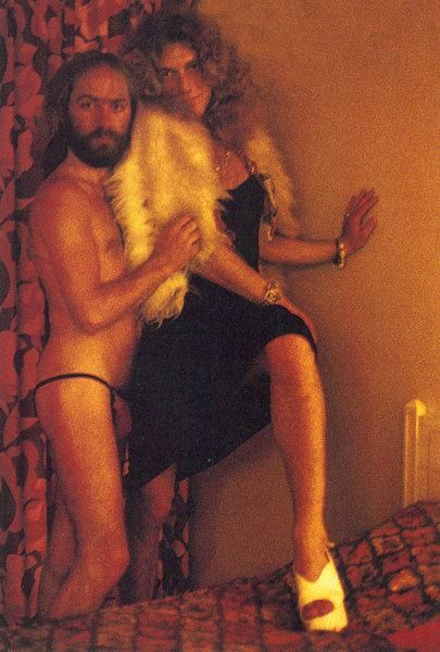 Roy Harper & Robert Plant, Continental Hyatt House West Hollywood June 1973 during a Led Zeppelin tour. Photography by BP Fallon. Ummmm....