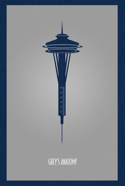 Seattle Space Needle - Grey's Anatomy