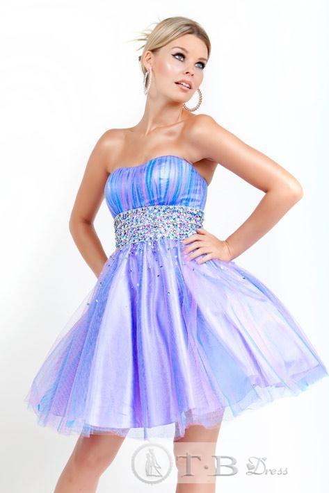 tbdresses.com: Cocktails Dresses, Homecoming Dresses, Ball Gowns, Color Schemes, Shorts Prom Dresses, Minis, Cute Strapless Dresses, Graduation Dresses, Prom Dresses Blue