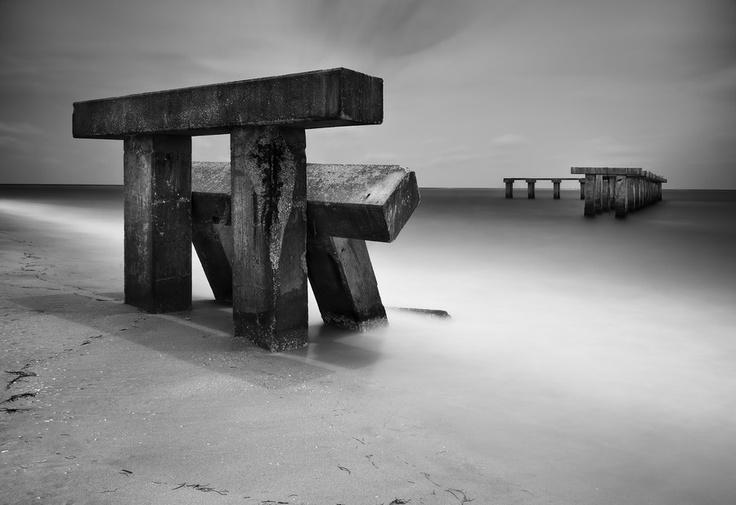 Fallen Pier by Chad Galloway
