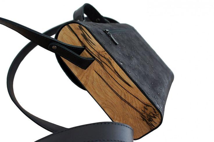 Изделия из кожи | Сумка «Черный лебедь»