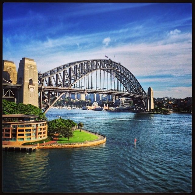 SYDNEY HARBOUR BRIDGE    AUSTRALIA