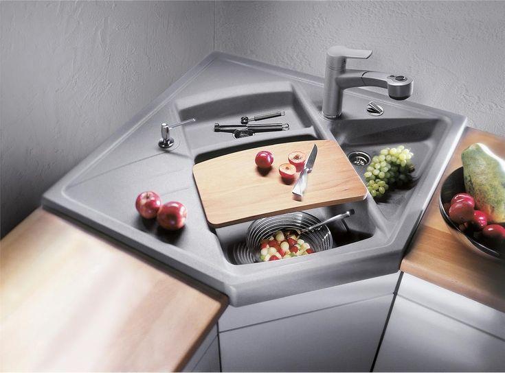 Угловые мойки для кухни своими руками фото