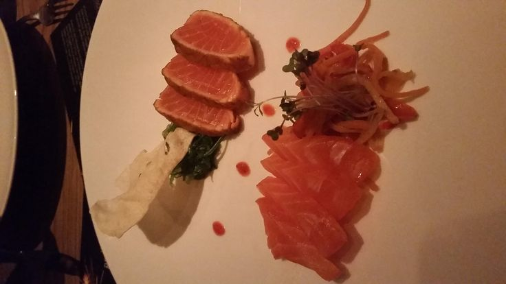 Sashimi & Tataki im Restaurant FISCHER in Inning am Ammersee. Lust Restaurants zu testen und Bewirtungskosten zurück erstatten lassen? https://www.testando.de/so-funktionierts
