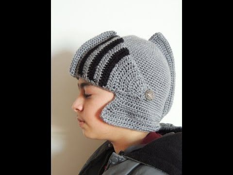 Como hacer un GORRO DE GLADIADOR a crochet (english subs!) | TUTORIAL PASO A PASO - YouTube