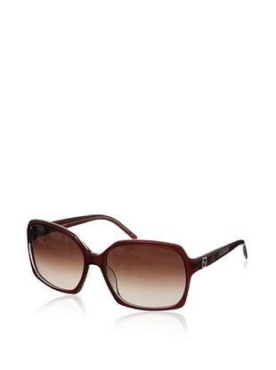 68% OFF Fendi Women's Sunglasses, Red, One Size
