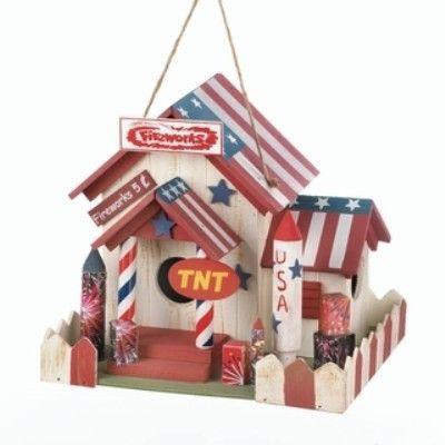 Fireworks Stand Birdhouse