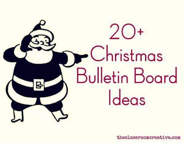 Christmas+Bulletin+Boards++Door+Decorations