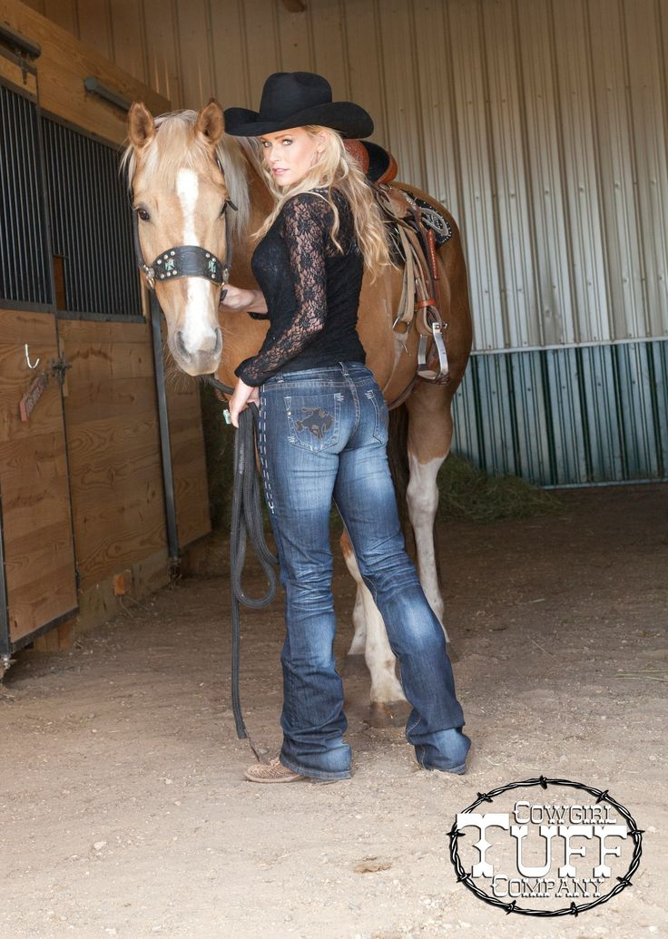 "Cowgirl Tuff Company presents ""Wild & Wooly"" Jeans for Women's of all shapes and sizes. Our sizes come in 24-36 and inseams 31-38""."