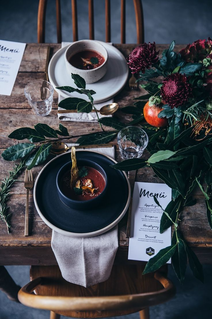 Wunderschönes Styling | our food stories // gathering