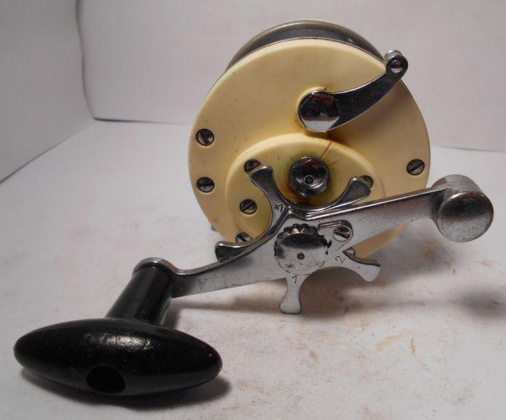 Vintage garcia mitchell 602 saltwater conventional fishing for Vintage garcia fishing rods