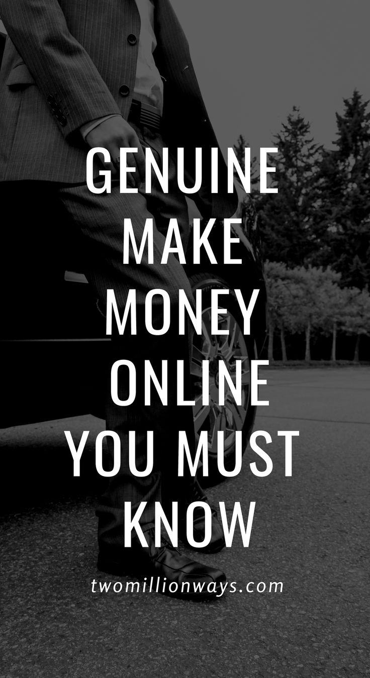 Genuine Ways to Make Money Online – Freedom Is For Sale