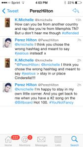Perez Hilton Gets Into A Twitter Beef With K. Michelle Over Iggy Azalea. Don't believe my, check it out for yourself over at Real Entertainment News. #PerezHilton #KMichelle #IggyAzalea #Celebrityblogger #CelebrityGossip #CelebrityNews #FamaleRapper #RealEntertainmentNews #AmericanSinger http://realentertainmentnews.com/perez-hilton-gets-into-a-twitter-beef-with-k-michelle-over-iggy-azalea/