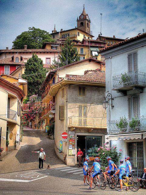 Monforte di Alba, province of cuneo , region of Piemonte, Italy