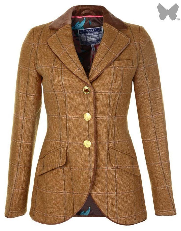 Joules Ladies' Parade Tweed Jacket - Harkworth Tweed S_PARADE - Ladies' Jackets and Coats - WOMEN | Country Attire