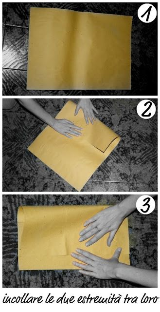 Coma fare sacchetti di carta   L'Officina di El'ò