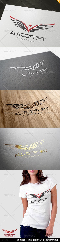 Autosport Logo — Vector EPS #media #height • Available here → https://graphicriver.net/item/autosport-logo/3843717?ref=pxcr