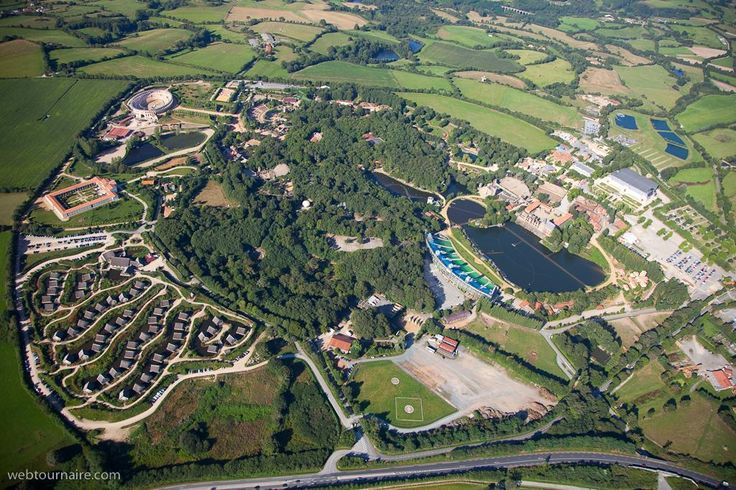 Vue Aérienne - Puy du Fou #photo #nature #parc #vendee #france