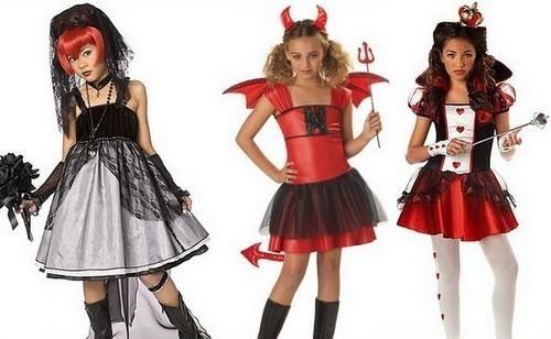 Костюмы своими руками на хеллоуин для детей