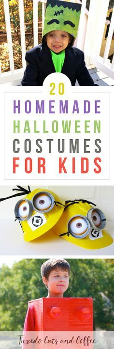 If you're on a budget, making your own homemade Halloween costumes is a great way to save money! You can create a DIY Halloween costume for just about any idea - witches, Frankenstein, minions, Disney characters, and so much more.