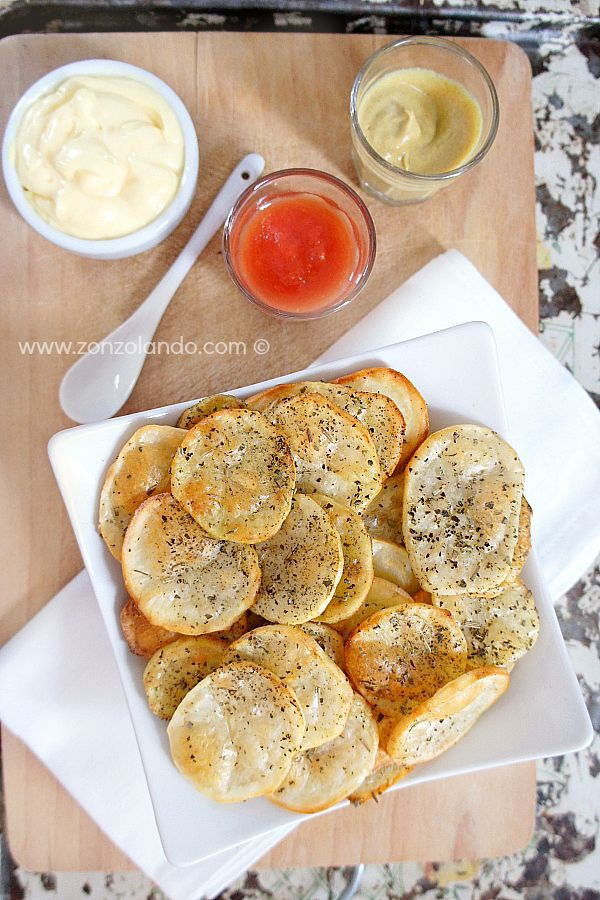 Chips di patate al forno | From Zonzolando.com