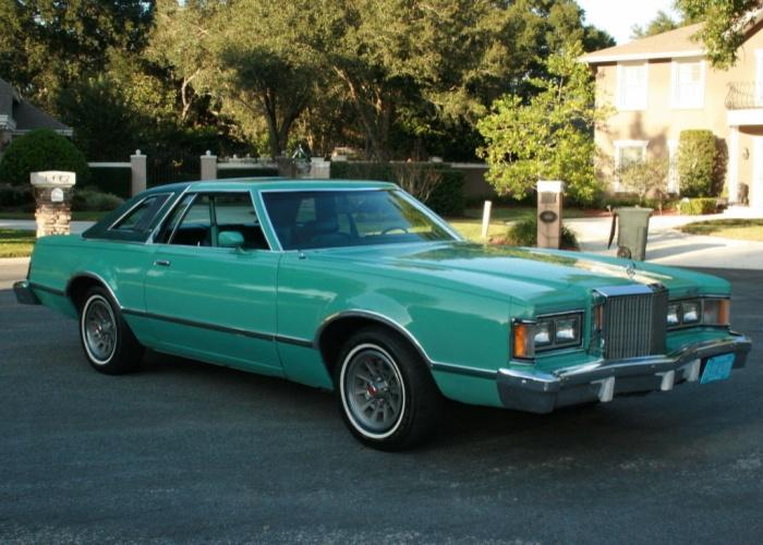 My 1st car I owned A 1978 Mercury Cougar XR7 Blue Max Edition