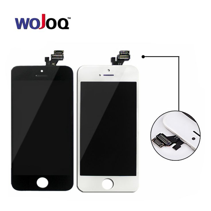 Original Quality Screen For iPhone 5 5G LCD Screen Display and Digitizer Replacement Touch Screen For iPhone 5G LCD Black&White Click visit for check price #mobilephoneaccessories
