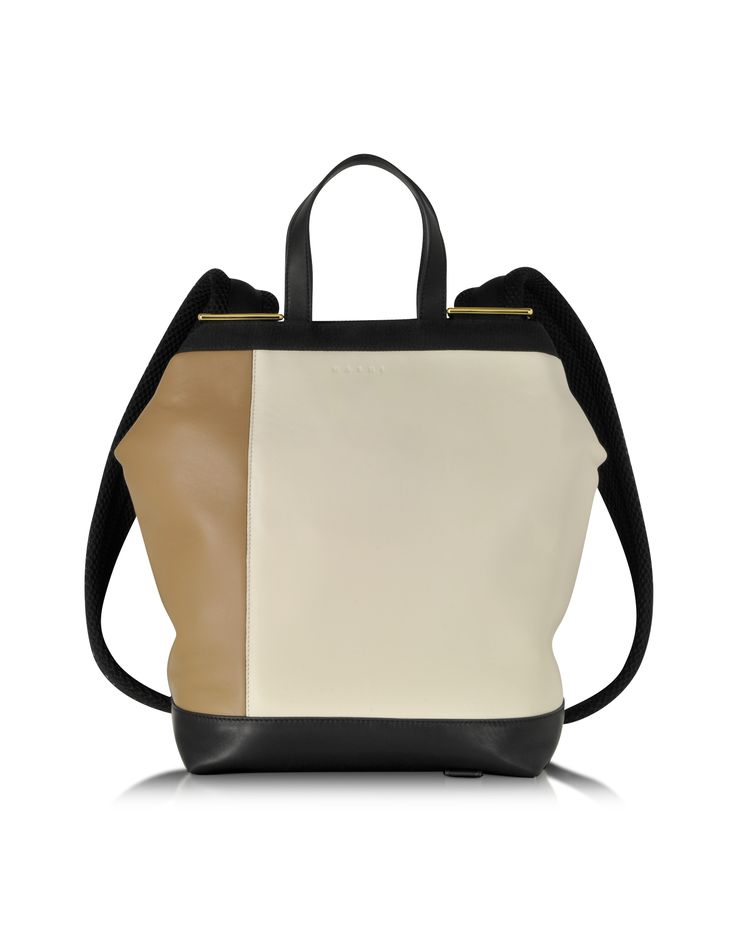 Marni Winter Nappa Leather Parachute Bag at FORZIERI