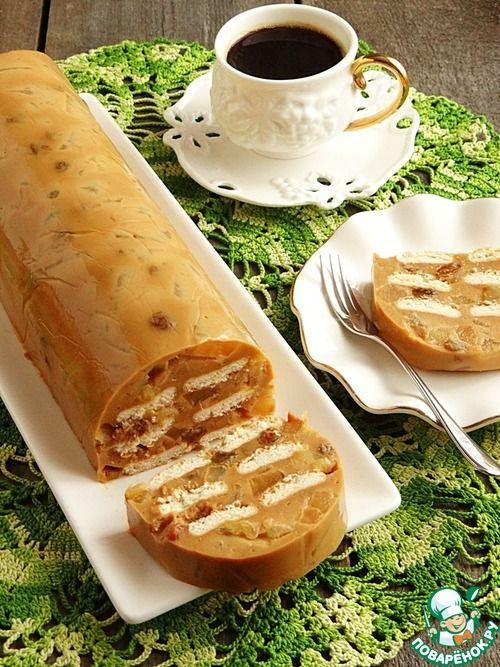 Карамельно-яблочный пудинг - кулинарный рецепт