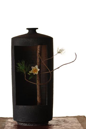 Ikebana by Naoki SASAKI, Japan, I have fallen in love with Ikebana. This is gorgeous!