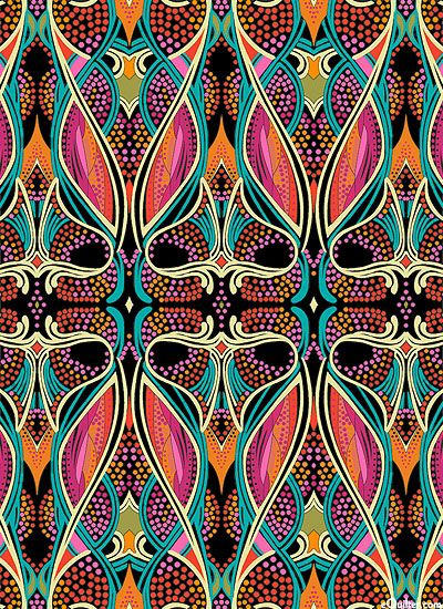 'Chorus Line' from the 'Patternista' collection by Paula Nadelstern for Benartex