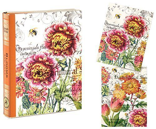 Blooms and Bees Library Cards