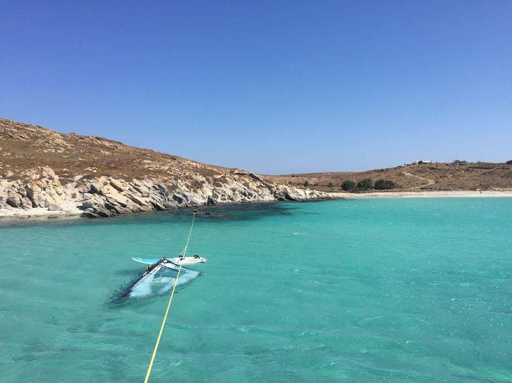 Surfing at Delos!