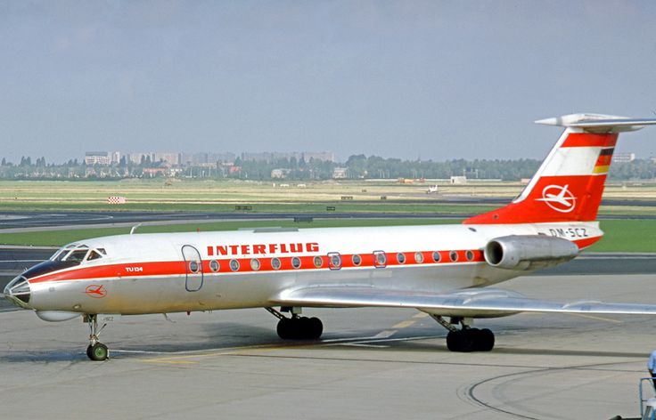 Iterflug East German Airlines 19631990 ️Airplane