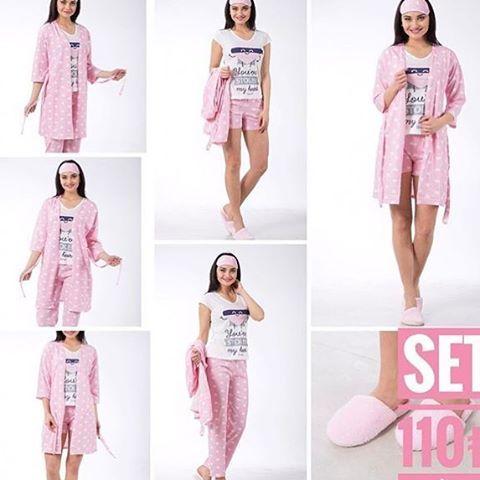 Kızlar çeyizinde de muhakkak olması gereken şahane 0 pamuk pijama takımı set halinde üstelik göz bandı ve terlik hediye ��Bedenler : S-M-L-XL ☎️Sipariş icin DM yada whatsapp��0539-272.38.88 Arkadaşlarınızı etiketleyin ���������������� . #değişim#nişanlık#abiye#elbise#makeup#makyaj#saç#eyeliner#ruj#düğün#nişan#gelin#gelinlik#bakım#sağlık#follow#followher#followme#butarzbenim#iştebenimstilim#abiye#elbise#love#oscar#selfie#wedding#mutfak#ev#home#pembe#pink#oje ��En uygun ve kaliteli bayan…